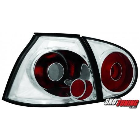 LAMPY TYLNE VW GOLF V 5 03-09 PRZEŹROCZYSTE