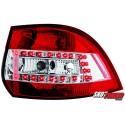 LAMPY TYLNE LED VW GOLF V/VI VARIANT 03.07+ CZERWONE/PRZEŹROCZYSTE