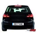 LAMPY TYLNE LITEC VW GOLF V 03-09 CZARNE/DYMIONE