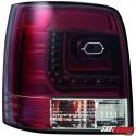 LAMPY TYLNE LITEC VW PASSAT 3B/G 97-05 CZERWONE/PRZEŹROCZYSTE