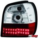 LAMPY TYLNE LED VW POLO 6N 95-97 CZERWONE/PRZEŹROCZYSTE