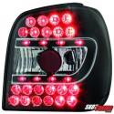 LAMPY TYLNE LED VW POLO 6N 95-97 CZARNE