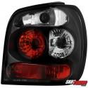LAMPY TYLNE VW POLO 6N 95-97 CZARNE