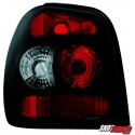 LAMPY TYLNE VW POLO 6N2 99-01 CZARNE