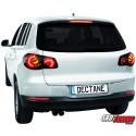 LAMPY TYLNE LED VW TIGUAN 07+ CZARNE/DYMIONE