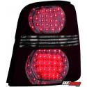 LAMPY TYLNE LED VW TOURAN 2003+ CZERWONE/DYMIONE