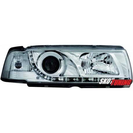 DRL REFLEKTORY BMW E36 COUPÉ 92-98 CHROM
