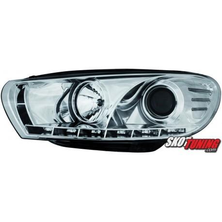 DRL REFLEKTORY VW SCIROCCO III CHROM