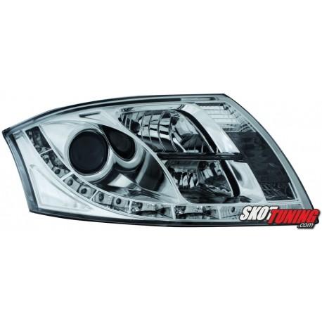 REFLEKTORY AUDI TT 12.98-05 CHROM