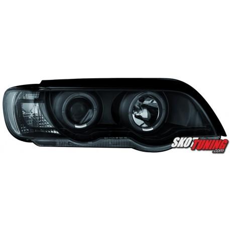 REFLEKTORY BMW X5 99-03 E53 CZARNE