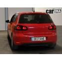 LAMPY TYLNE CARDNA LED VW GOLF VI LIGHTBAR CZARNE/DYMIONE