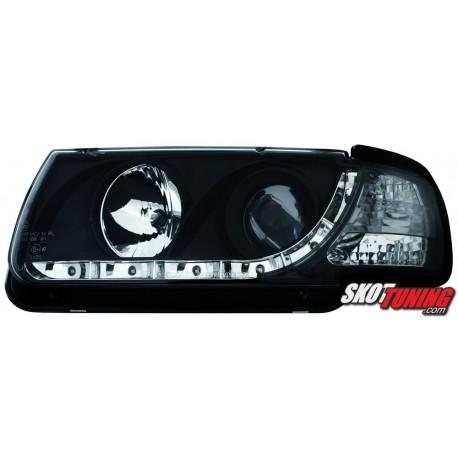 REFLEKTORY VW POLO 6N 95-98 CZARNE
