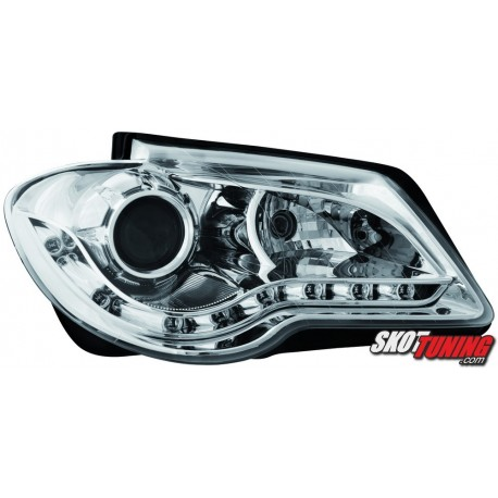 REFLEKTORY VW TOURAN 1T GP 06-10 CHROM