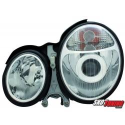 REFLEKTORY MERCEDES BENZ W210 E-KLASA 99-01 CHROM
