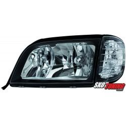 REFLEKTORY MERCEDES BENZ W140 S-KLASA 92-98 CZARNE