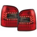 LAMPY TYLNE LED AUDI A4 B5 AVANT 95-01 CZERWONE / DYMIONE