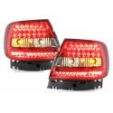 LAMPY TYLNE LED AUDI A4 B5 SEDAN 95-10.00 CZERWONE/DYMIONE