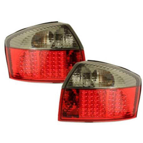 LAMPY TYLNE LED AUDI A4 8E SEDAN 01-04 CZERWONE / DYMIONE