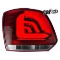 LAMPY TYLNE CARDNA LED VW POLO 6R_09+ CZERWONE/PRZEŹROCZYSTE