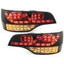 LAMPY TYLNE LED AUDI Q7 05-09 CZARNE / DYMIONE