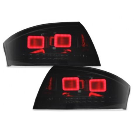 LAMPY TYLNE LED AUDI TT (8N3/8N9) 98-05 CZARNE / DYMIONE