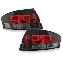 LAMPY TYLNE LED AUDI TT (8N3/8N9) 98-05 CZERWONE / DYMIONE