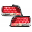 LAMPY TYLNE LED BMW E36 COUPE 92-98 CZERWONE / PRZEŹROCZYSTE