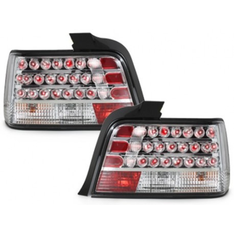 LAMPY TYLNE LED BMW E36 SEDAN 92-98 PRZEŹROCZYSTE