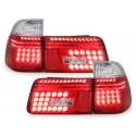 LAMPY TYLNE LED BMW 5 E39 TOURING 95-00 CZERWONE / PRZEŹROCZYSTE