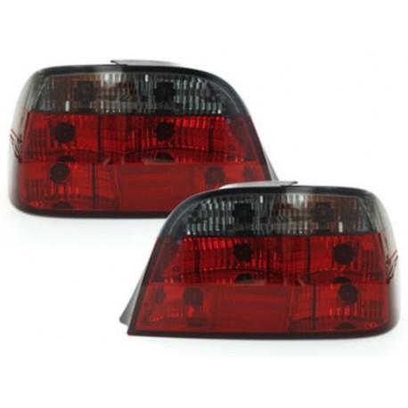 LAMPY TYLNE BMW 7 E38 95-02 CZERWONE / DYMIONE
