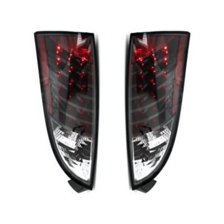 LAMPY TYLNE LED FORD FOCUS 98-04 CZARNE