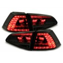 LAMPY TYLNE LED VW GOLF VII +13 GTI LOOK CZARNE / DYMIONE