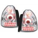 LAMPY TYLNE LED HONDA CIVIC 3D 96-00 PRZEŹROCZYSTE
