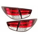 LAMPY TYLNE LED HYUNDAI IX35_2009+ CZERWONE / PRZEŹROCZYSTE