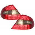 LAMPY TYLNE LED MERCEDES BENZ CLK W209 05-10 CZERWONE / DYMIONE