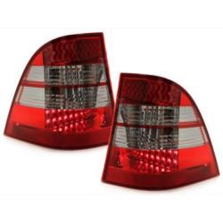 LAMPY TYLNE LED MERCEDES BENZ W163 M-KLASSE CZERWONE / DYMIONE
