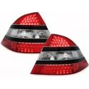 LAMPY TYLNE LED MERCEDES BENZ W220 S-KLASA CZARNE / CZERWONE / PRZEŹROCZYSTE