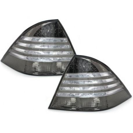 LAMPY TYLNE MERCEDES BENZ W220 S-KLASSE 98-05 CZARNE / DYMIONE