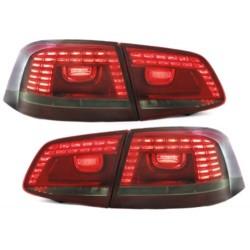 LAMPY TYLNE LED VW PASSAT 3C GP SEDAN 2011+ CZERWONE / DYMIONE