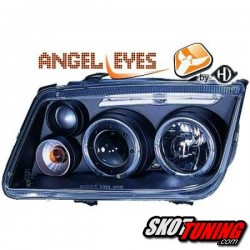 REFLEKTORY ANGEL EYES VW BORA 98-05 CZARNE