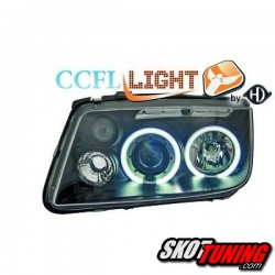REFLEKTORY ANGEL EYES CCFL VW BORA 98-05 CZARNE