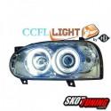 REFLEKTORY CCFL VW GOLF III 92-98 CHROM Z RINGAMI