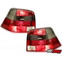 LAMPY TYLNE VW GOLF IV 97-04 CZERWONE / DYMIONE