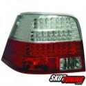 LAMPY TYLNE LED VW GOLF IV 97-04 CZERWONE / PRZEŹROCZYSTE