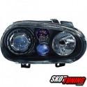 REFLEKTORY VW GOLF IV 97-04 R32-LOOK CZARNE