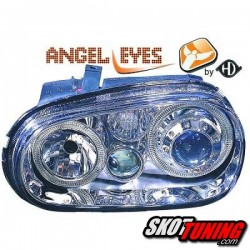 REFLEKTORY VW GOLF IV 97-04 R32-LOOK CHROM Z RINGAMI