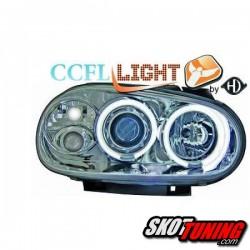 REFLEKTORY CCFL VW GOLF IV 97-04 Z RINGAMI CHROM