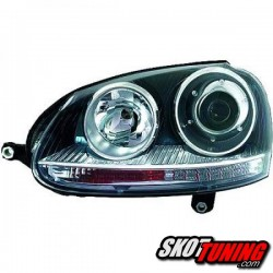 REFLEKTORY VW GOLF V 03-08 GTI LOOK CZARNE