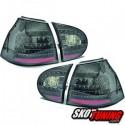 LAMPY TYLNE LED VW GOLF V 5 03-09 CZARNE / DYMIONE