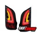 LAMPY TYLNE CARDNA LED VW UP 11+  CZARNE / DYMIONE